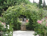 <br>Arbour and fountain