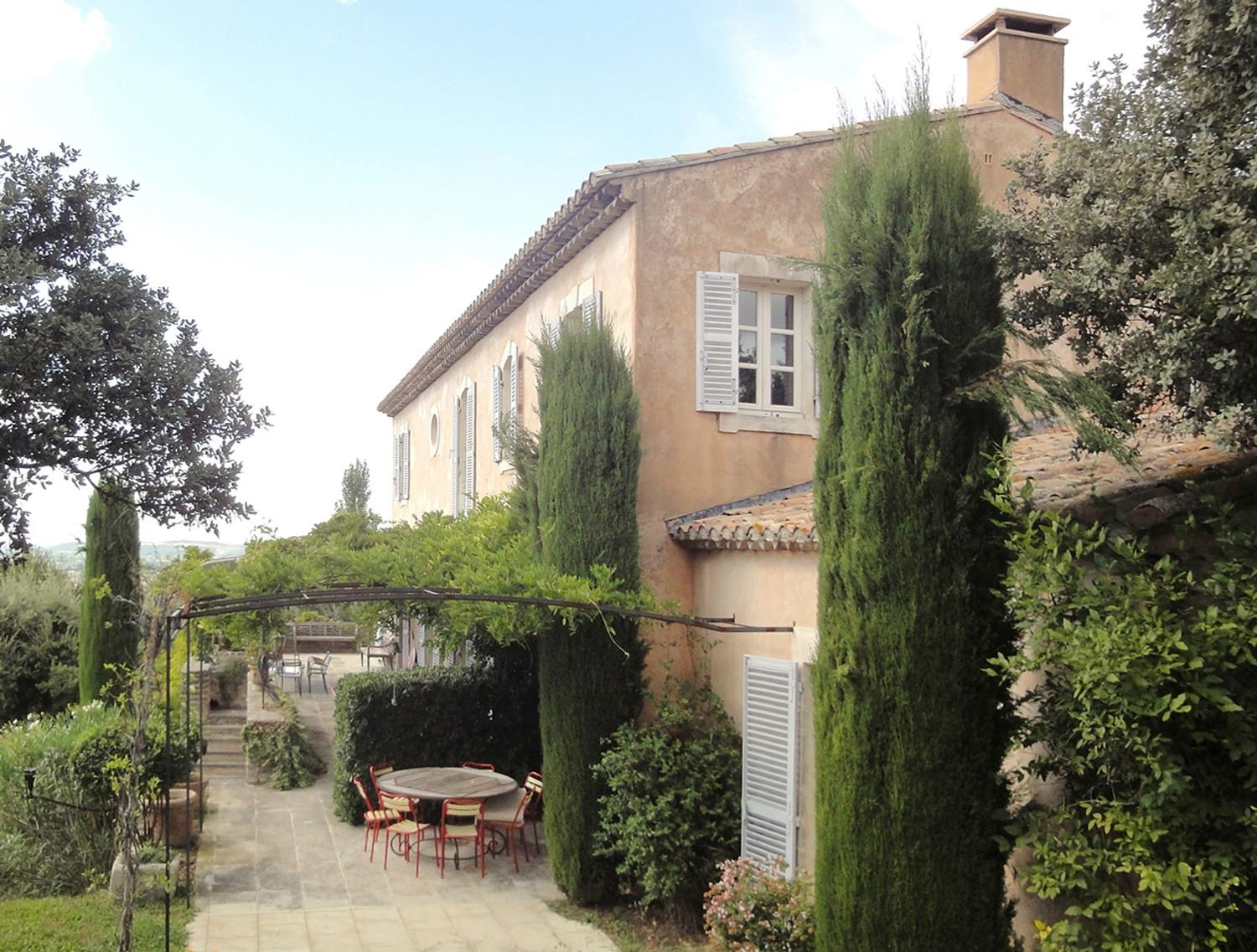 Newly Built Houses A Provencal Bastide Softly Rendered