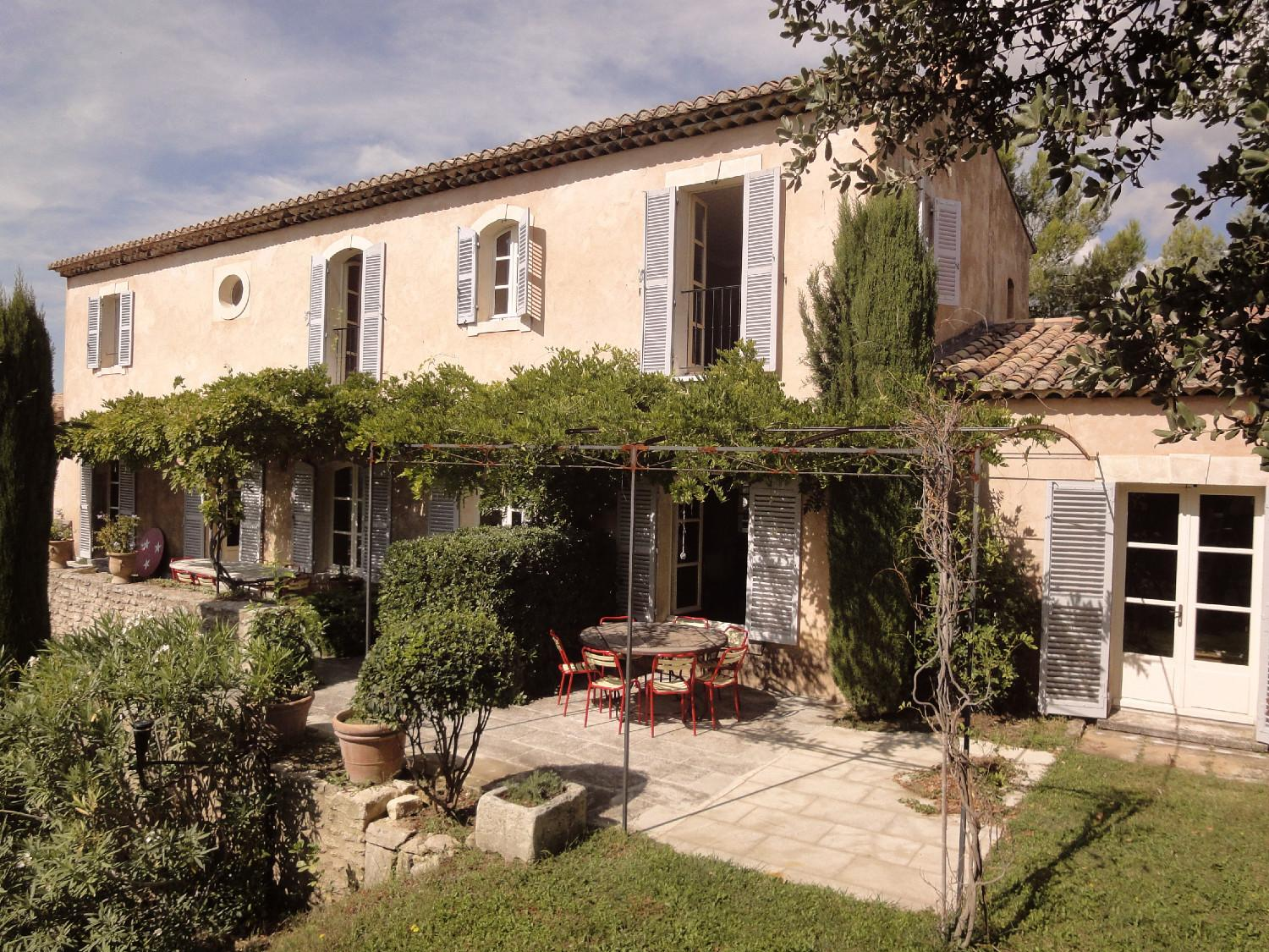 Couleurs Facades En Provence newly built houses : a provencal bastide softly rendered - a