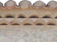 <br>Detail of roof genoises
