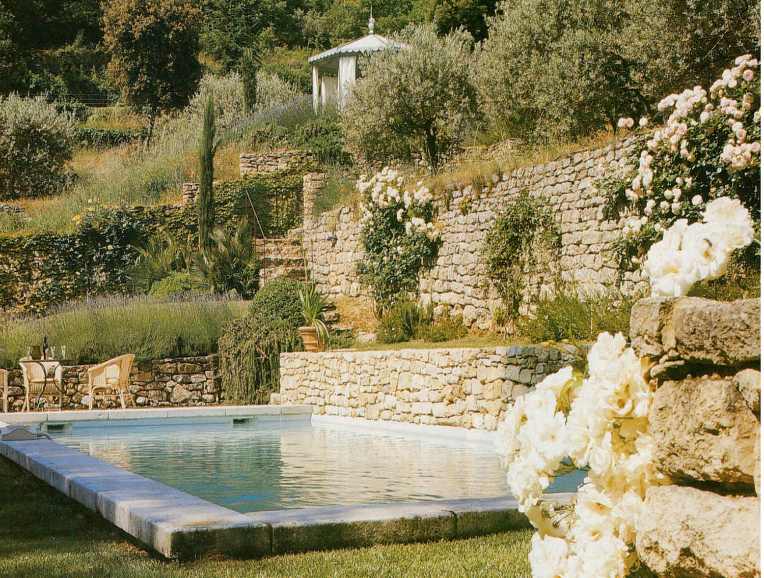 Pools pool houses pools and pool houses a nelson architect landsc - Pool house provencal ...